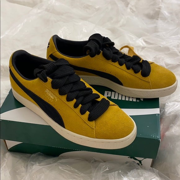 Suede Classic Archive Yellow Sneakers